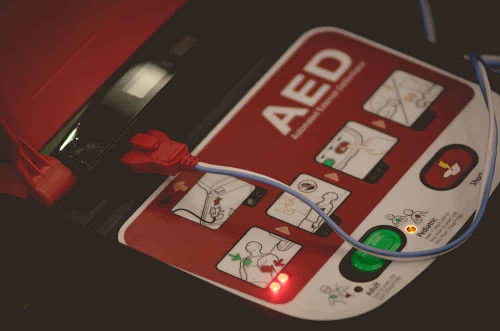 Red AED