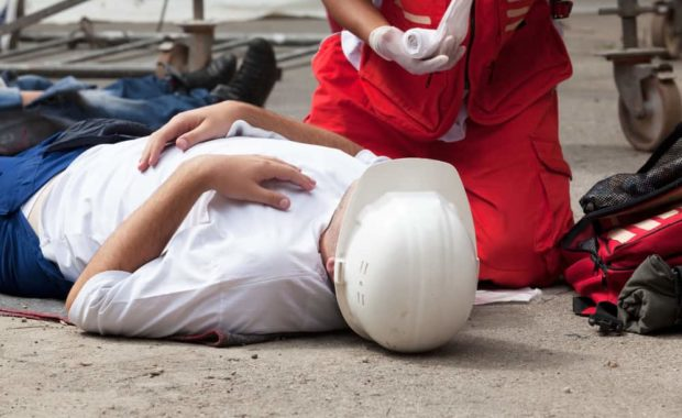 level 2 first aid training at work