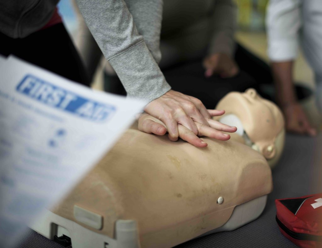 first aid training and aed