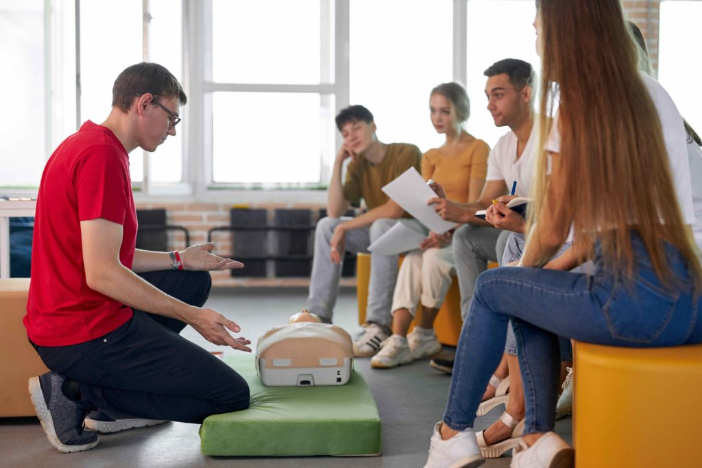 types of first aid courses